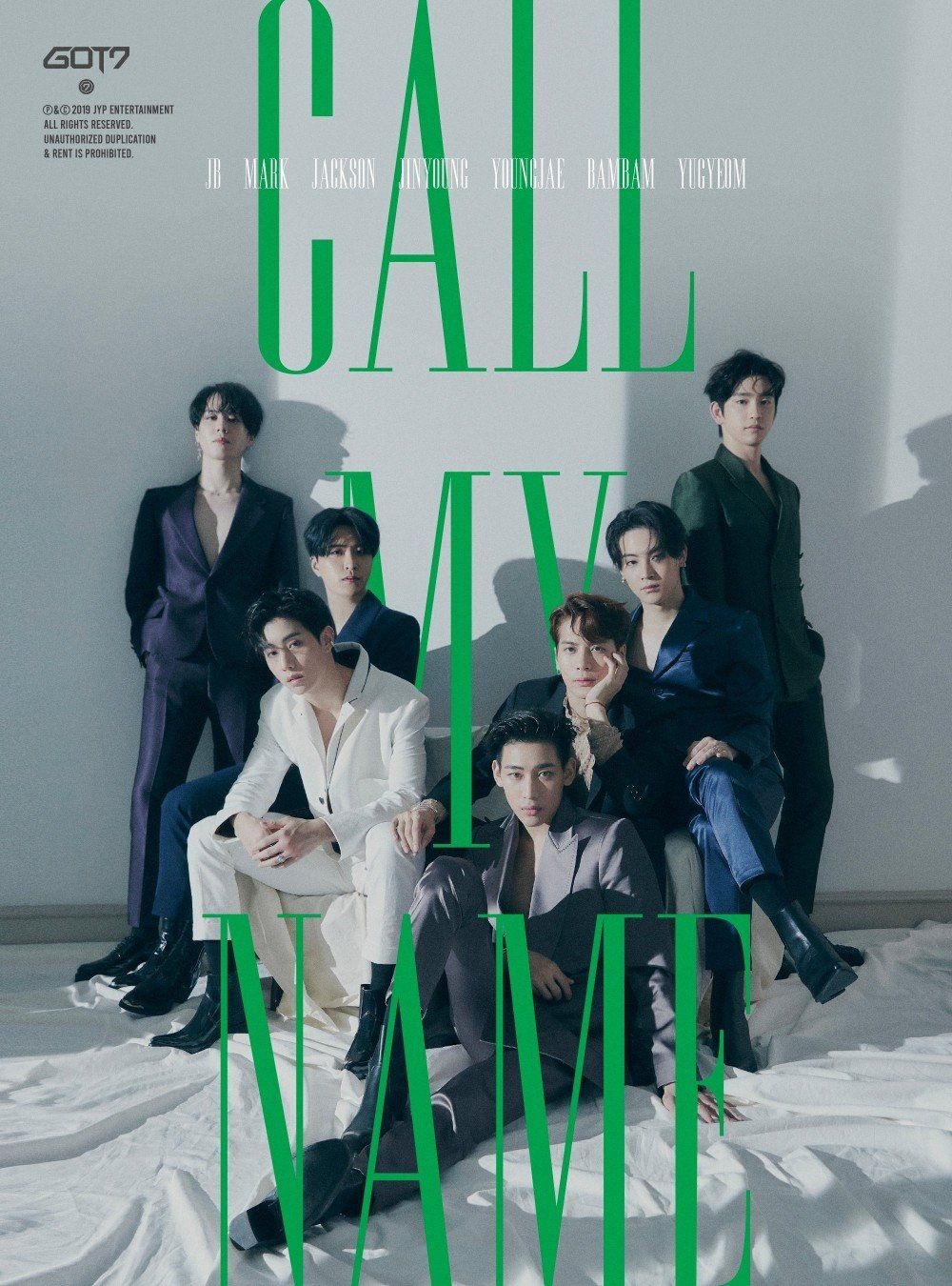 GOT7 - Call My Name (10th Mini Album) - Kpop.ro Shop